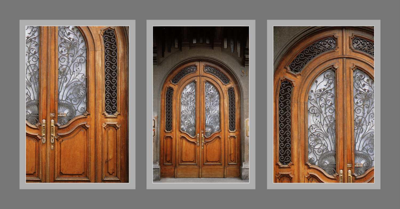 красивые металлические двери в москве